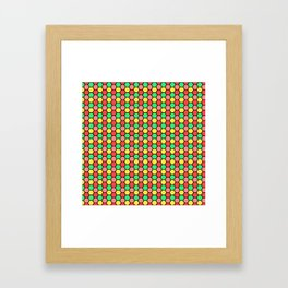 Happy Honeycombs Framed Art Print