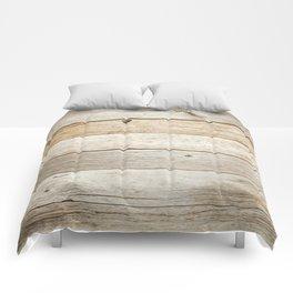 Rustic Barn Board Wood Plank Texture Comforters
