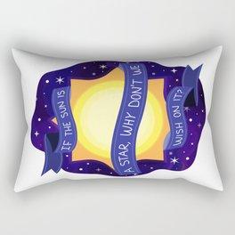 If the Sun is A Star Rectangular Pillow