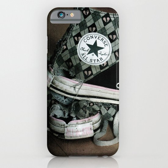 Worn Out Chucks iPhone & iPod Case