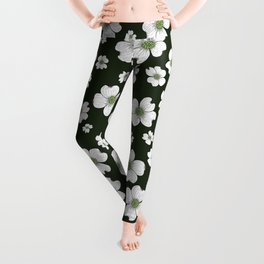 Dogwood Flowers Leggings