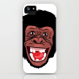 funny  facecharacter iPhone Case