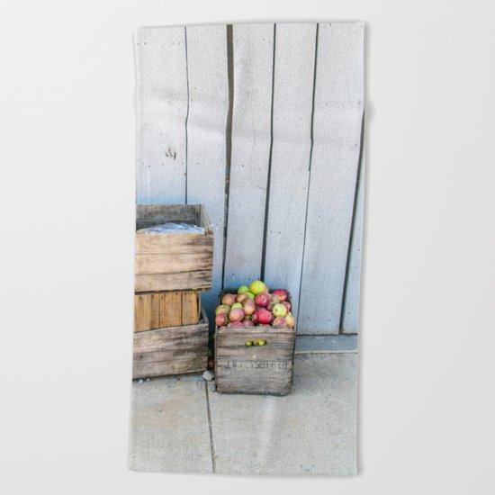 An Apple a Day Beach Towel