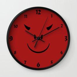 Devil Face Wall Clock