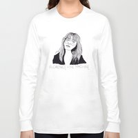 florence Long Sleeve T-shirts featuring Florence by ☿ cactei ☿