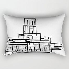 Tower at the sea Rectangular Pillow