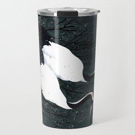 Japanese Cranes / Sayuri Travel Mug
