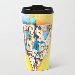 Star of David: Israel Wars Travel Mug