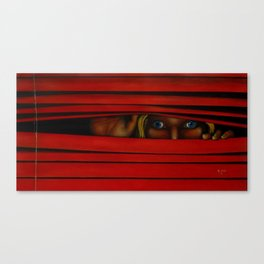 Who That Canvas Print