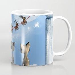 Christmas, cute cats Coffee Mug