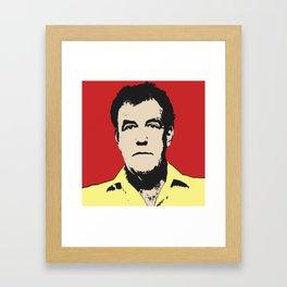 Jeremy Clarkson Pop Art Framed Art Print