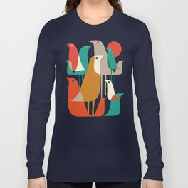 Flock of Birds Long Sleeve T-shirt