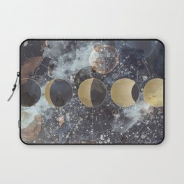 Lunar Phases Laptop Sleeve