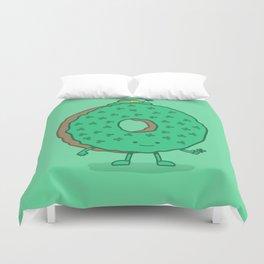 The St Patricks Day Donut Duvet Cover