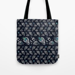 Turkish tulip - Ottoman tile pattern 5 Tote Bag
