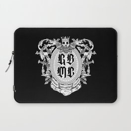 GBMC - The Gentlemans Beard and Mustache Coalition Laptop Sleeve