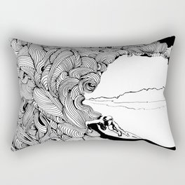 surfer dude Rectangular Pillow
