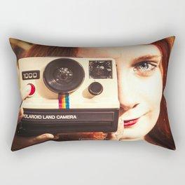 70s feelings Rectangular Pillow
