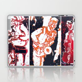 Jazzing it up          by Kay Lipton Laptop & iPad Skin