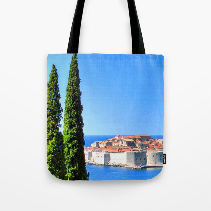 Croatia Treescape Tote Bag