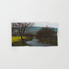 Along a rural road - Landscape and Nature Photography Hand & Bath Towel