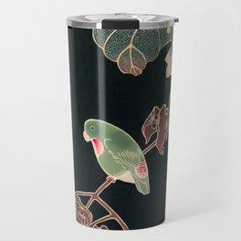 Parakeet by Ito Jakuchu, 1900 Travel Mug