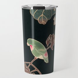 Parakeet by Ito Jakuchu, 1900 Travel Mug