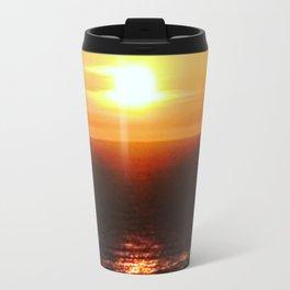 San Pedro Golden Sunset Travel Mug