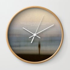 Find Yourself Wall Clock