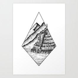 The White City Art Print