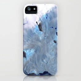 Glaciers on Greenland's Coast iPhone Case