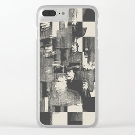 Identity Theft Clear iPhone Case
