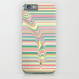 Zebra's Stripes iPhone Case