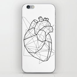 Vector Heart iPhone Skin