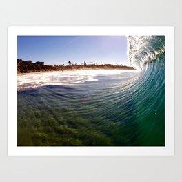 California Dreaming - Encinitas, CA Art Print