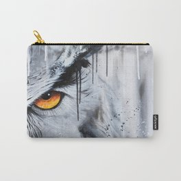 owl eye night vision Carry-All Pouch