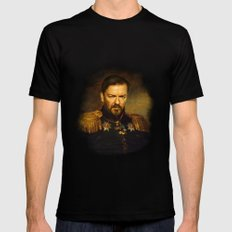 Ricky Gervais - replaceface Mens Fitted Tee Black LARGE