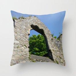 Selskar Abbey Throw Pillow