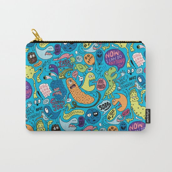 Gettin' Loose Pattern Carry-All Pouch