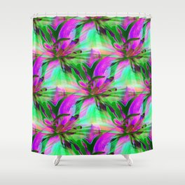 Floral Exotica 2 Shower Curtain
