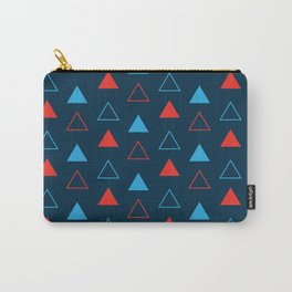 4th Of July red blue American pattern Carry-All Pouch