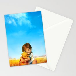 Everything is Right Stationery Cards