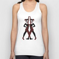 harley Tank Tops featuring Harley by Jajowi