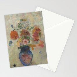 Odilon Redon - Large Vase with Flowers Stationery Cards