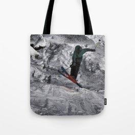 Mountain Air  - Skier Tote Bag