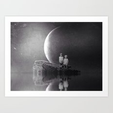 Arlyn and E.L. Art Print