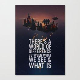 Bioshock Infinite Columbia Quote Canvas Print