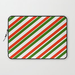 TEAM COLORS 1...Gren ,red,white Laptop Sleeve