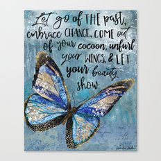 Let Go Of The Past Canvas Print