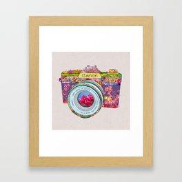 FLORAL CAN0N Framed Art Print
